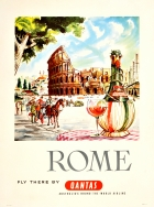 Rome Qantas Harry Rogers