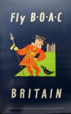 Fly BOAC to Britain