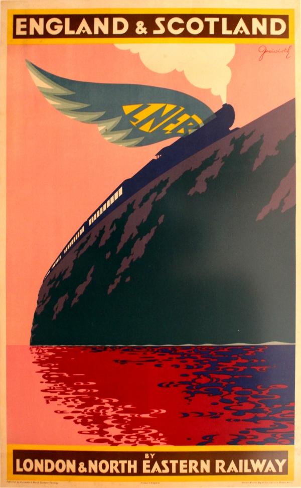 London Travel Advice >> Original Vintage Posters -> Travel Posters -> England ...