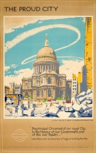 LT London The Proud City St Pauls Cathedral WWII