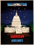 Washington American Airlines McKnight Kauffer