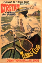 Etretat Tennis Cycling Belle Epoque