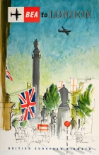 London BEA British European Airways