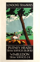 LT Putney Heath Wimbledon London Tramways