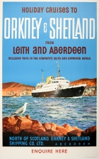 Holiday Cruises Orkney Shetland Leith Aberdeen Rodmell