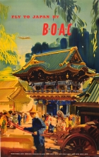 Fly to Japan by BOAC Wootton