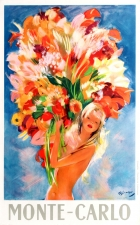 Monte Carlo Flower Girl Domergue