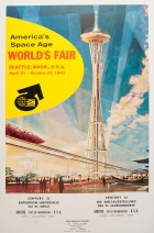 Seattle World Fair Century 21 Space Age
