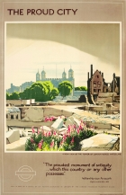 LT London The Proud City Tower Of London Spradbery WWII
