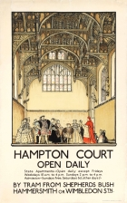 LT Hampton Court London Tram King Henry VIII