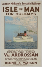 Isle Of Man For Holidays LMS Norman Wilkinson