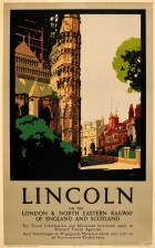 Lincoln Cathedral LNER Fred Taylor