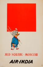 Red Square Moscow Air India Malevich
