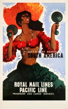 South America Royal Mail Lines Pacific Shipping Line