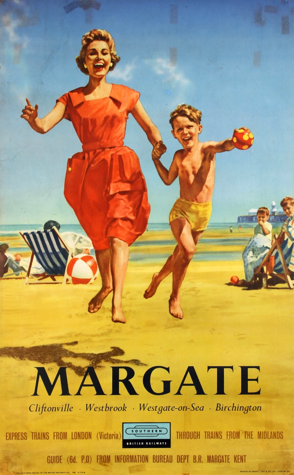 Original Vintage Posters -> Travel Posters -> Margate British