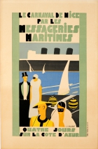 Nice Carnival Art Deco Messageries Maritimes