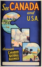 See Canada and USA CNR Canadian National Railways
