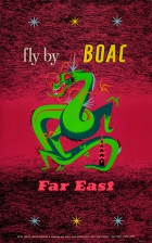Fly BOAC Far East Dragon