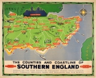 Southern England Counties Coastline