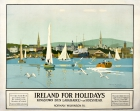 Ireland for Holidays Norman Wilkinson LMS Dun Laoghaire Kingston