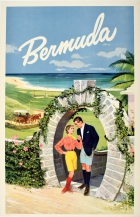 Bermuda Horseshoe Moongate Arch Horse Carriage Golf Beach
