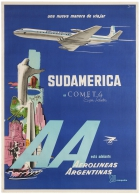 Argentine Aerolineas Airlines South America Comet 4