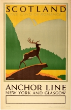 Scotland Land of Romance Anchor Line Herrick