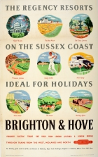Brighton And Hove Sussex Coast South Downs
