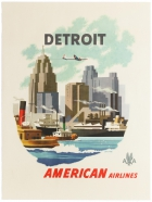 Detroit American Airlines Michigan USA