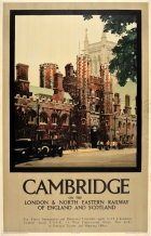 Cambridge LNER St John's College Fred Taylor