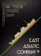 East Asiatic Company Shipping Passenger Service