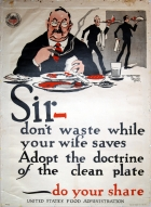 Sir, don't waste while your wife saves