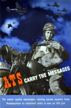 ATS Carry Messages WWII