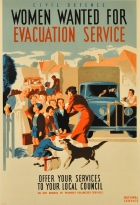Women Wanted WWII Evacuation