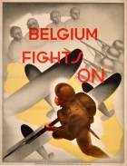 Belgium Fights On WWII Art Deco