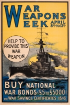 War Weapons Week 1918 WWI UK