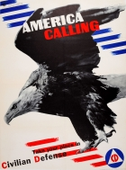 America Calling Eagle WWII Matter