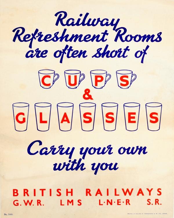 Original Vintage Posters -> War Posters -> British Railways