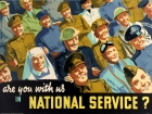 Are You With Us in National Service WWII Home Front