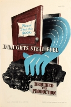 Draughts Steal Fuel WWII Home Front UK