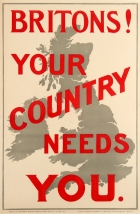Britons Your Country Needs You WWI UK