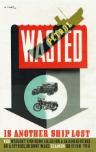 Wasted Set WWII UK Abram Games