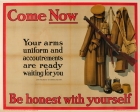 Come Now Be Honest With Yourself WWI UK