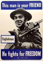 This Man is Your Friend Englishman WWII
