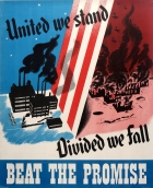United We Stand WWII USA Home Front