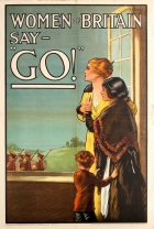 Women of Britain Say Go WWI UK