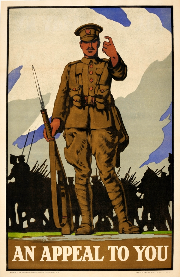 An Appeal To You WWI UK