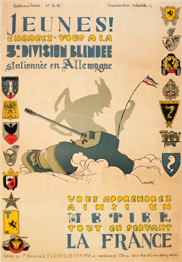 5th Armoured Division WWII Army Recruitment
