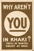 Why Arent You In Khaki? WWI UK
