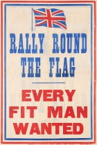 Rally Round The Flag Every Fit Man Wanted WWI